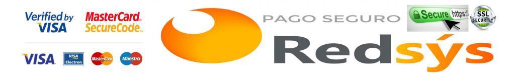 Pago Seguro SSL Redsys con tarjeta de crédito en kiboTEK