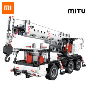 Kaufen Sie Xiaomi MiTU Engineering Crane Building Blocks in kiboTEK Spanien