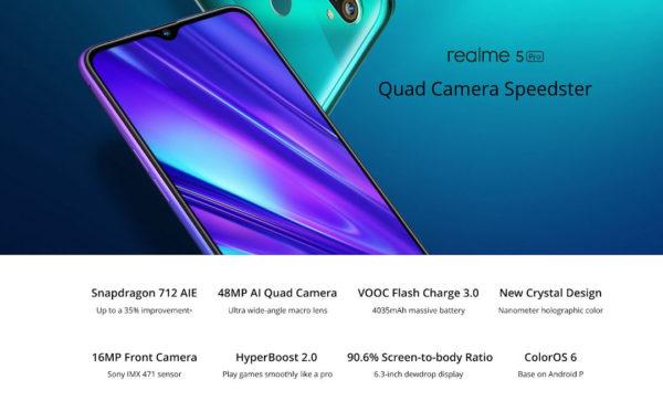 Acquista Realme 5 Pro su kiboTEK Spagna